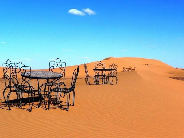 8 Days Tour From Tangier to Fes - Desert - Endin in Marrakech